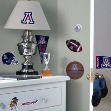 Collegiate Sports Appliqué University of Arizona Wall Decal