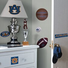 <strong>Room Mates</strong> Collegiate Sports Appliqué Auburn University Wall Decal
