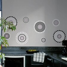 Room Mates 20 Piece Deco Fusion Wall Decal Set