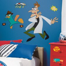 <strong>Room Mates</strong> Studio Designs Agent P Giant Wall Decal