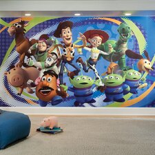 <strong>Room Mates</strong> Extra Large Murals Toy Story 3 Wall Decal