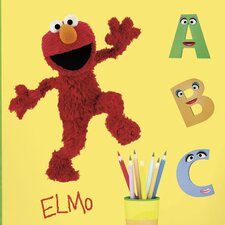 <strong>Room Mates</strong> Sesame Street Licensed Designs Elmo Giant Wall Decal