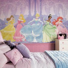 <strong>Room Mates</strong> Extra Large Murals Perfect Princess Chair Rail Wall Decal