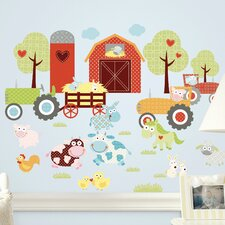 Room Mates Deco Happi Barnyard Wall Decal