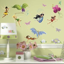 <strong>Room Mates</strong> Licensed Designs Disney Fairies Wall Decal