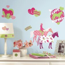 Room Mates Deco Horse Crazy Wall Decal