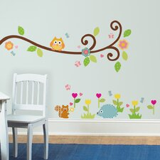 <strong>Room Mates</strong> Happi Scroll Branch Wall Decal