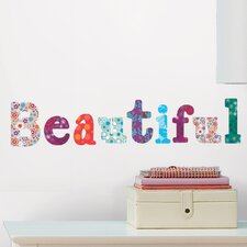 <strong>Room Mates</strong> Boho Alphabet Wall Decal