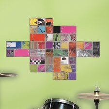 Art of Board Square Giant Wall Decal