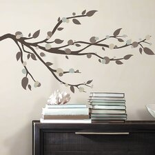 33 Piece Deco Mod Branch Peel and Stick Wall Decal Set