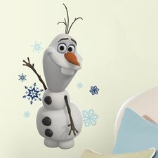 25 Piece Frozen Olaf The Snowman Peel and Stick Wall Decal Set