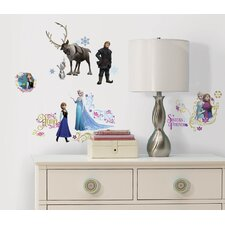 36 Piece Frozen Peel and Stick Wall Decal Set