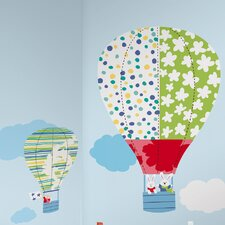 <strong>Room Mates</strong> Hot Air Balloons Giant Wall Decal