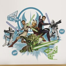 <strong>Room Mates</strong> Star Wars Collage Peel and Stick Wall Decal