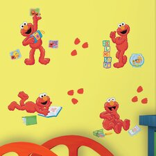 <strong>Room Mates</strong> Sesame Street ElmoCentric Wall Decal