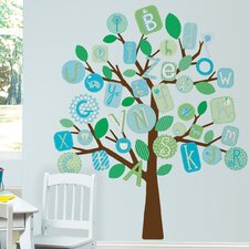 <strong>Room Mates</strong> ABC Tree Giant Wall Decal