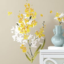 <strong>Room Mates</strong> Deco Flower Arrangement Peel and Stick Wall Decal