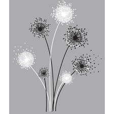 <strong>Room Mates</strong> Graphic Dandelion Giant Wall Decal