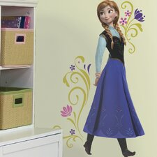 18 Piece Frozen Anna Peel and Stick Giant Wall Decal Set