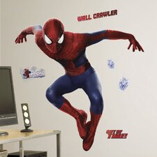 26 Piece Marvel The Amazing Spider-Man 2 Peel and Stick Giant Wall Decal Set