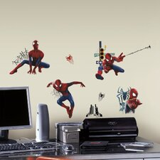 32 Piece Marvel The Amazing Spider-Man 2 Peel and Stick Wall Decal Set