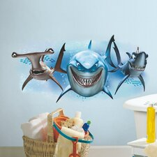 Finding Nemo Sharks Giant Wall Decal