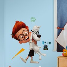Mr. Peabody and Sherman Giant Wall Decal