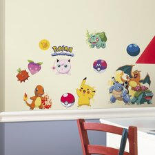 Pokemon Iconic Wall Decal