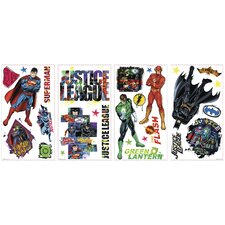 Popular Characters Justice League Peel and Stick Wall Decal
