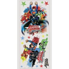 Popular Characters Justice League Peel and Stick Giant Wall Decal