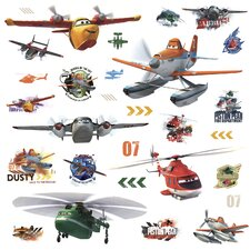 Popular Characters Planes Fire and Rescue Peel and Stick Wall Decal