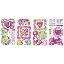 Best Friends Forever Peel and Stick Wall Decal