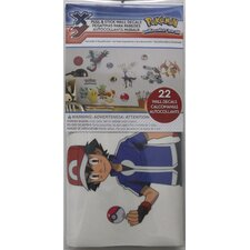 Popular Characters Pokemon XY Peel and Stick Wall Decal