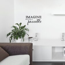 Mia & Co Imagine Transfer Wall Decal