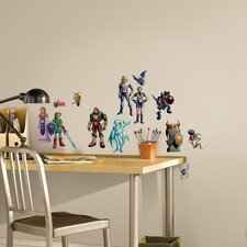 Popular Characters Zelda Ocarina of Time 3D Peel and Stick Wall Decal