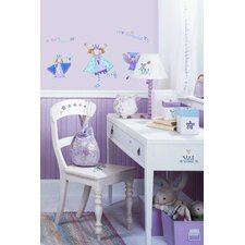 Fairy Princess Peel and Stick Wall Sticker