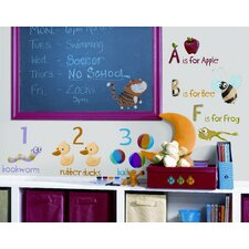 Studio Designs 115 Piece Education Station Wall Decal Set