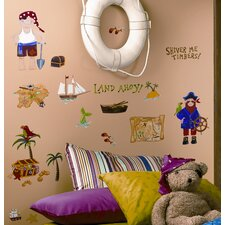 Treasure Hunt Peel and Stick Wall Sticker