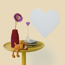 Heart Large Peel and Stick Mirror