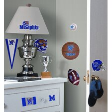 University of Memphis Peel and Stick Wall Decal