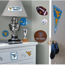 West Virginia University Peel and Stick Wall Decal