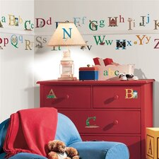 <strong>Room Mates</strong> Studio Designs Alphabet Wall Decal
