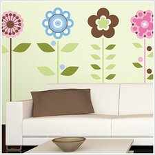<strong>Room Mates</strong> Room Mates Deco Growing Flowers Wall Decal