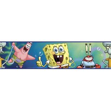 <strong>Room Mates</strong> Nickelodeon SpongeBob SquarePants Wallpaper Border