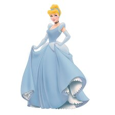 Licensed Designs 37 Piece Cinderella Giant Wall Decal Set