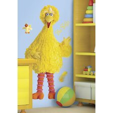 <strong>Room Mates</strong> Sesame Street Licensed Designs Big Bird Giant Wall Decal