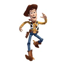 Licensed Designs Toy Story Woody Peel and Stick Giant Wall Decal
