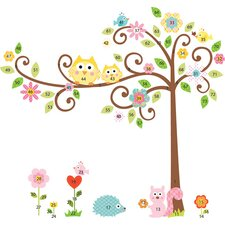 Megapacks Scroll Tree Peel and Stick Mega Pack
