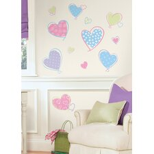 Studio Designs Hearts Peel and Stick Wall Decal