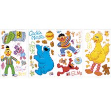 Licensed Designs Sesame Street Peel & Stick Appliques